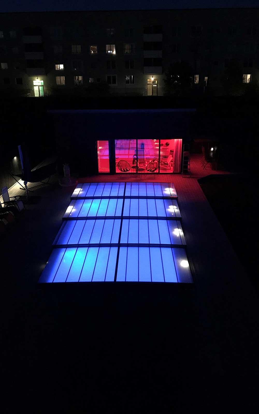Svartbäcken villa pool